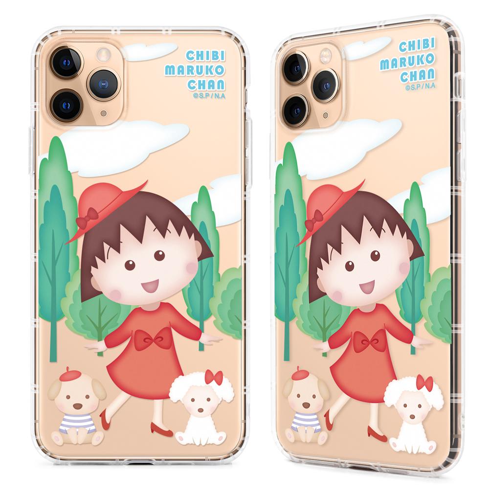 OMG 買瘋樂   櫻桃小丸子 iPhone11/Pro/ProMax 保護軟殼 空壓氣墊