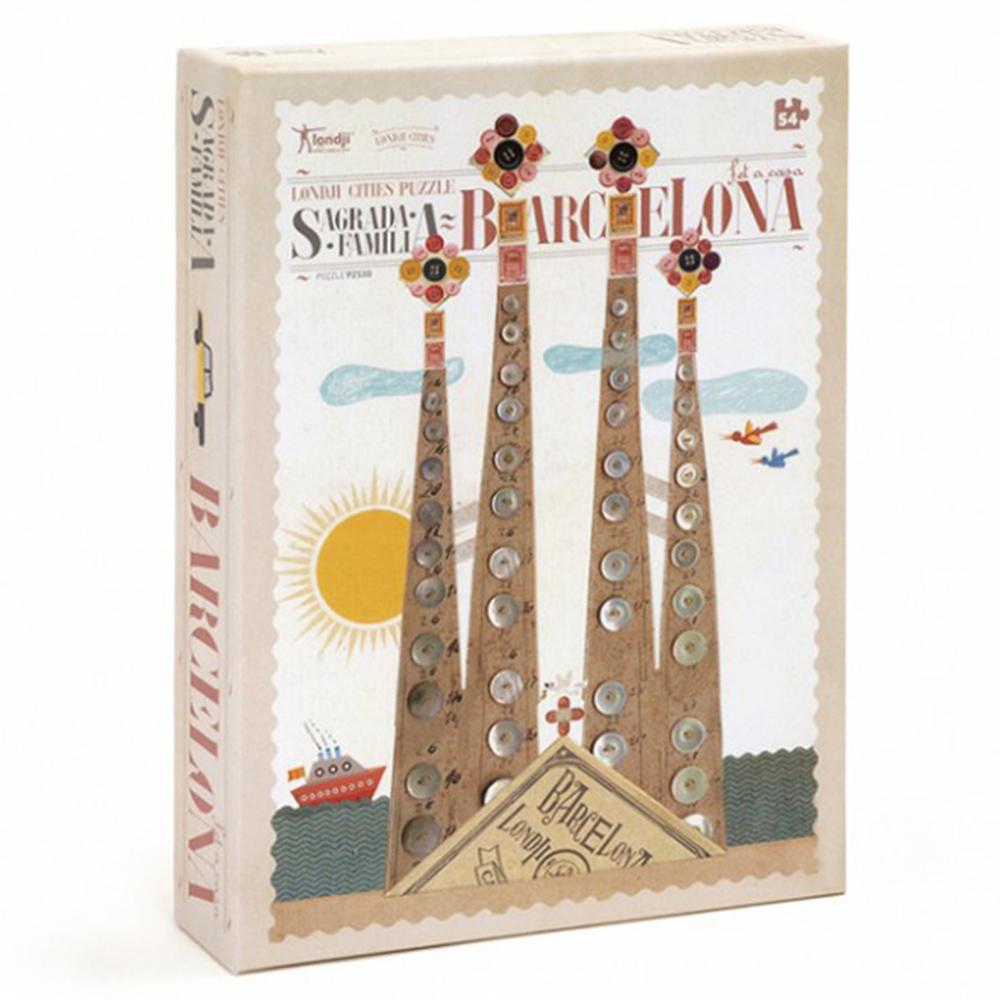 西班牙Londji 高第聖家堂景點拼圖