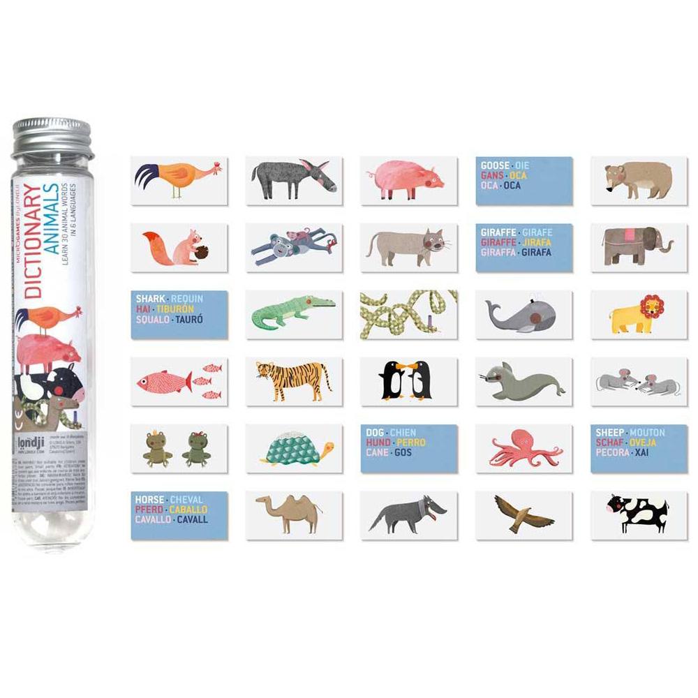 西班牙Londji 自然動物迷你辭典