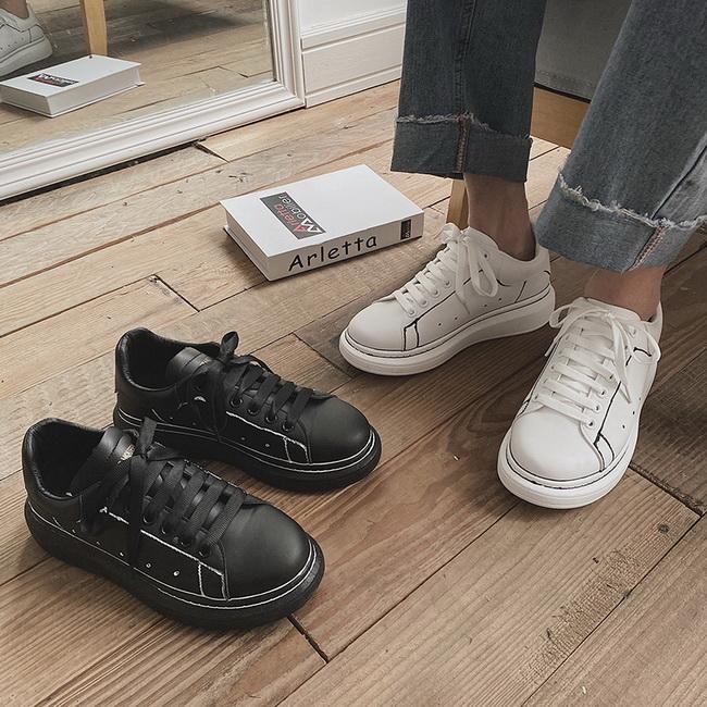 FOFU-休閒鞋時尚百搭厚底休閒鞋板鞋【08B-S0645】