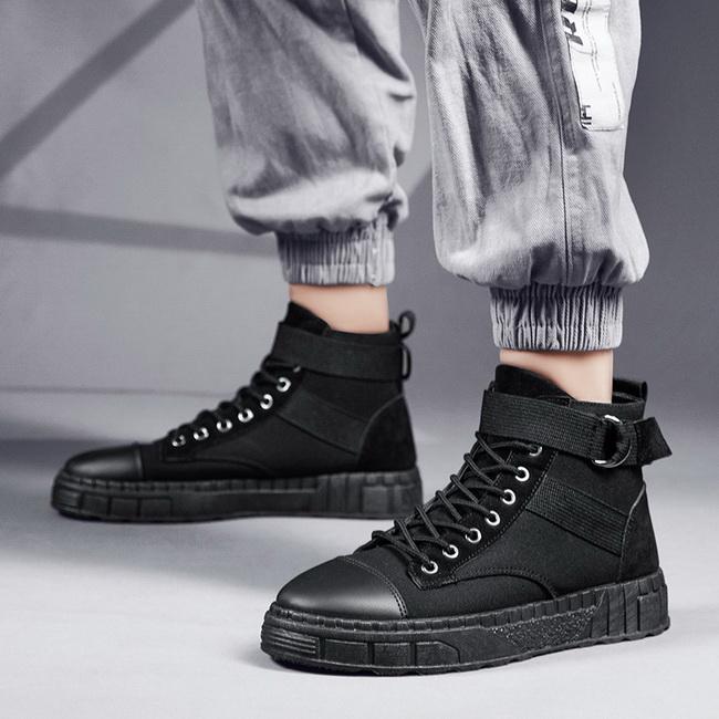 FOFU-短靴戶外運動軍裝工作風運動短靴【08B-S0643】