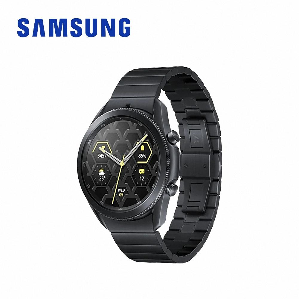 SAMSUNG Galaxy Watch3 45mm (藍芽) 鈦金屬