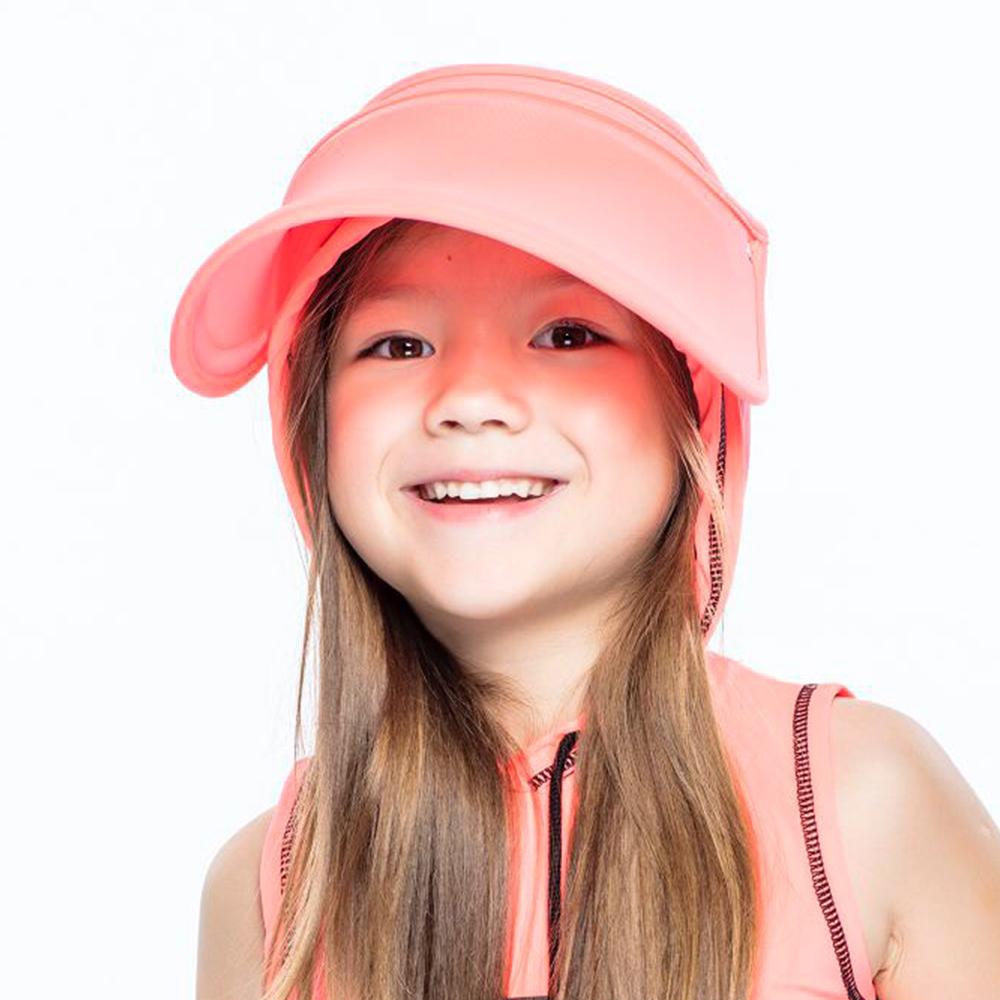 【HOII后益】伸縮帽-兒童(三色:黃/紅/藍)