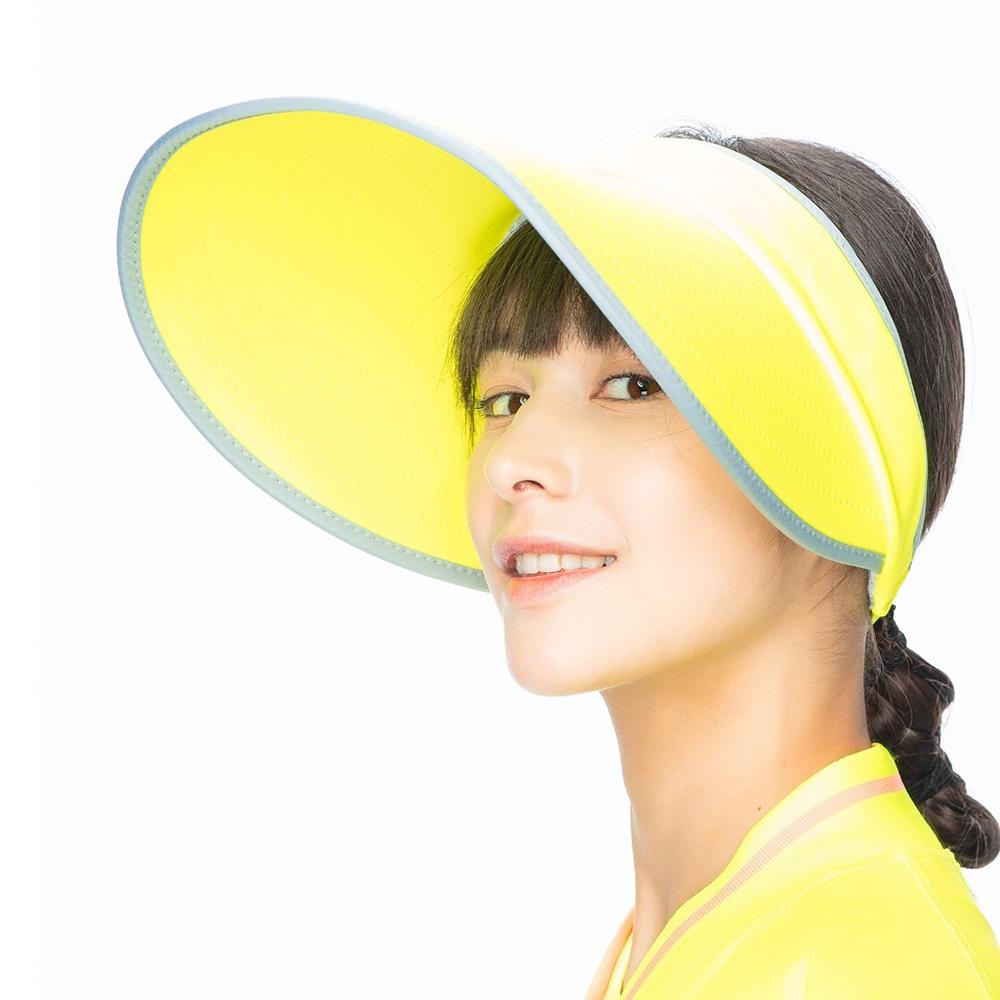 【HOII后益】輕巧摺疊美膚帽(三色:黃/紅/藍)
