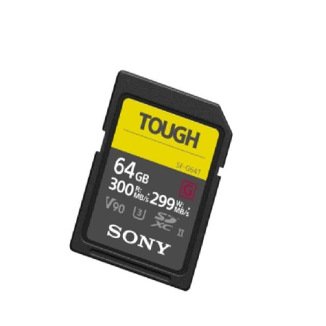 SONY 索尼 SDXC U3 64GB 超高速防水記憶卡 SF-G64T  公司貨