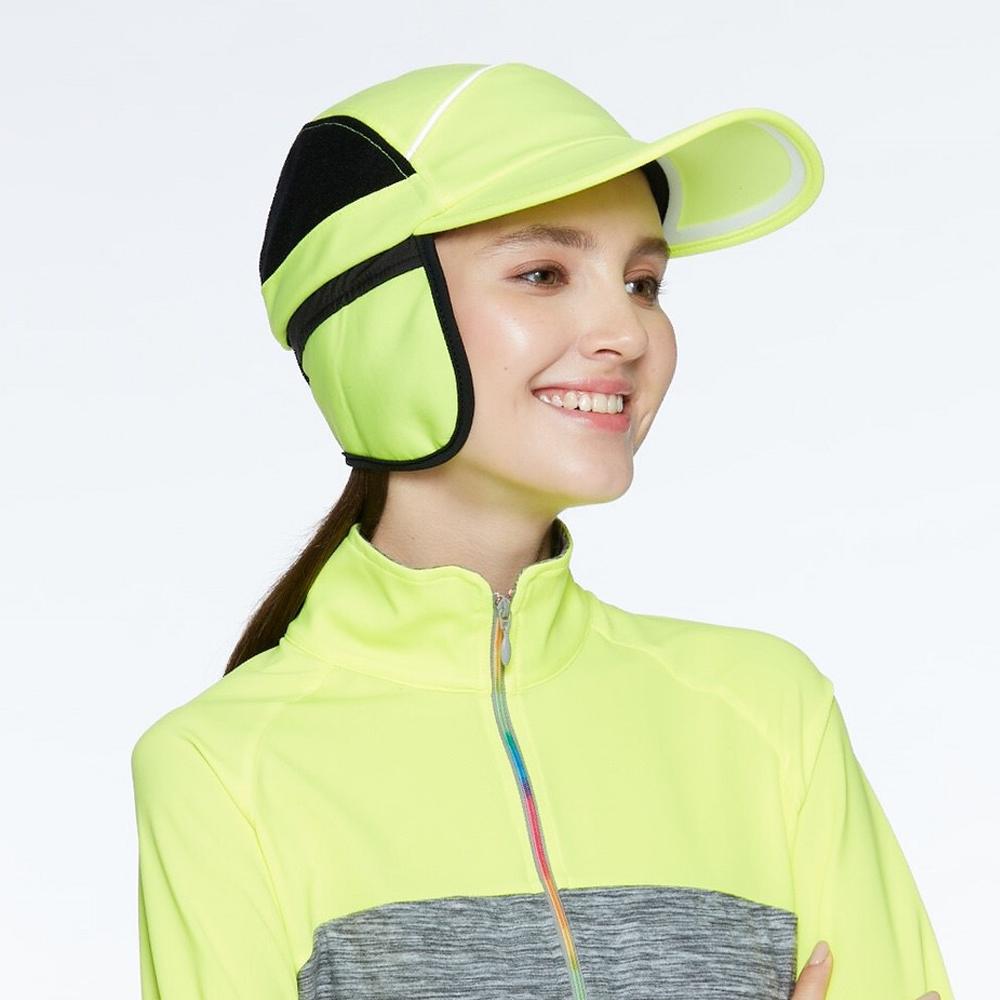 【HOII后益】拼色保暖飛行帽(三色:黃/紅/藍)