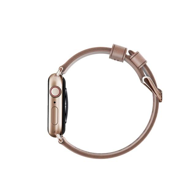 [NOMAD] Apple Watch 專用皮革錶帶 摩登金 38/40mm 【LINE 官方嚴選】