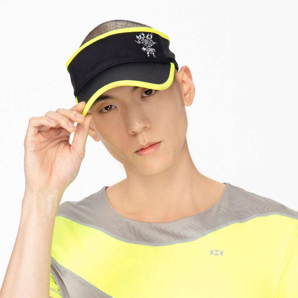 【HOII后益】時尚-拼色高爾夫帽(三色:黃/紅/藍)