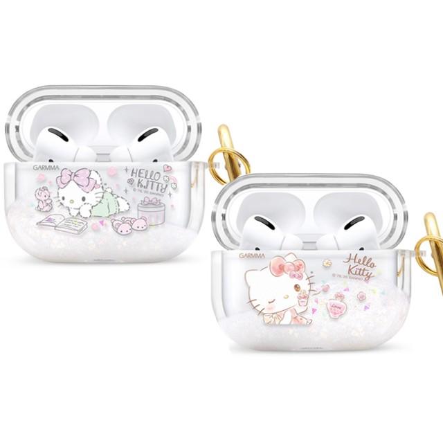 GARMMA Hello Kitty AirPods Pro 藍芽耳機流沙保護套