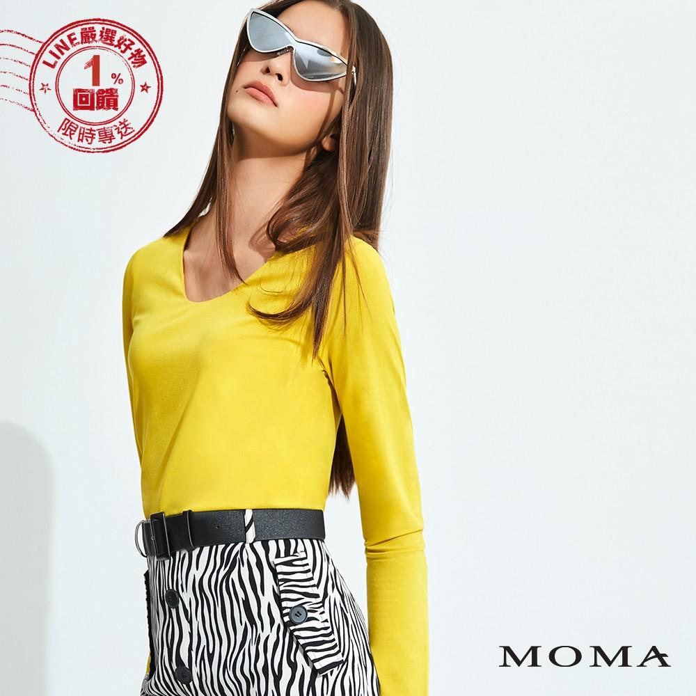 MOMA(92M013) 圓領基本款上衣-剩餘34號