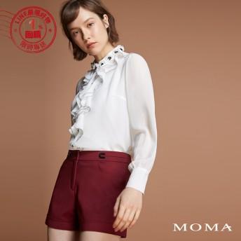 MOMA(92P085)反摺個性短褲