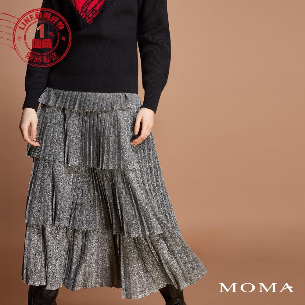 MOMA(92S093)兩穿式亮蔥裙