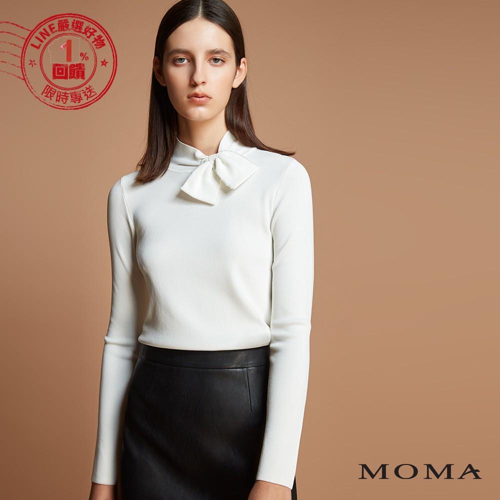 MOMA(92KM68)領口側邊蝴蝶領結上衣
