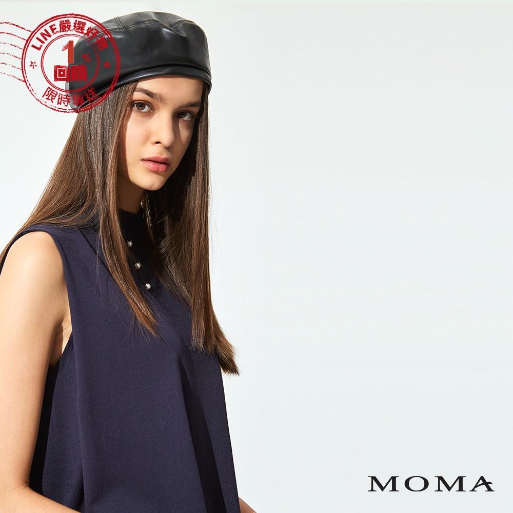 MOMA(92KM23) 鑽飾無袖針織上衣