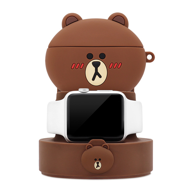 OMG買瘋樂 | LINE FRIENDS 熊大 充電支架 二合一 多功能 手機支架