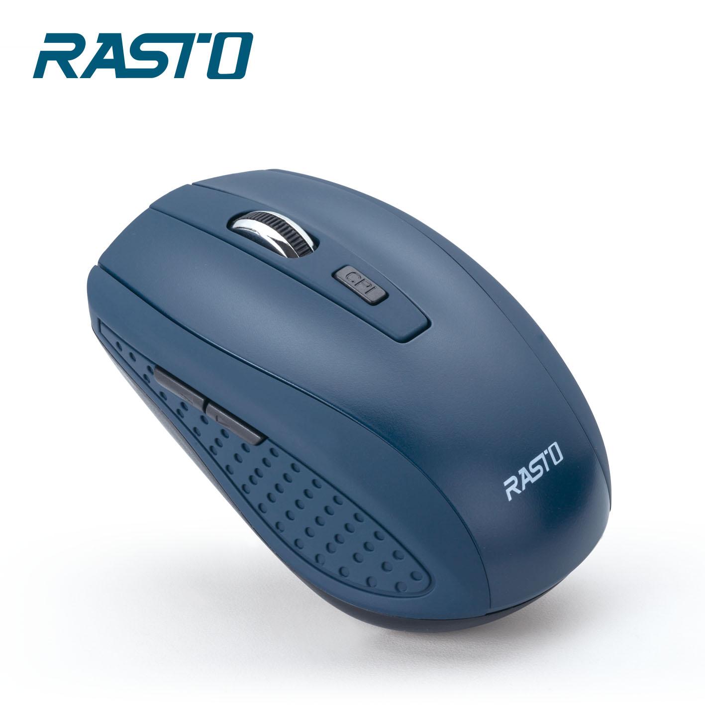 RASTO RM6 六鍵式超靜音無線滑鼠