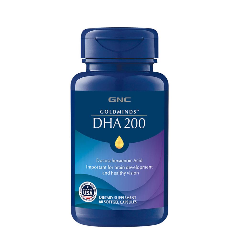 GNC 健安喜 藻油DHA膠囊 60顆/瓶