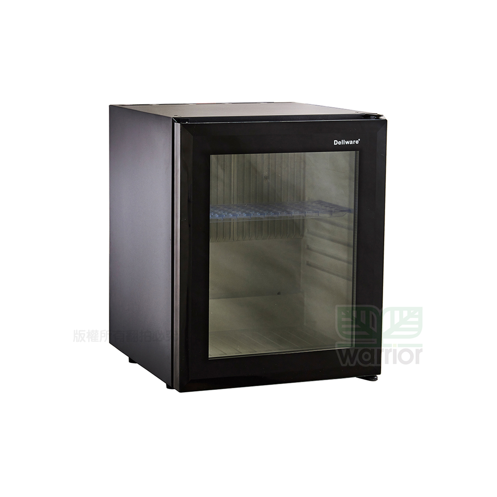 Warrior樺利 Dellware鋼化玻璃門吸收式無聲客房冰箱 (XC-30RT)