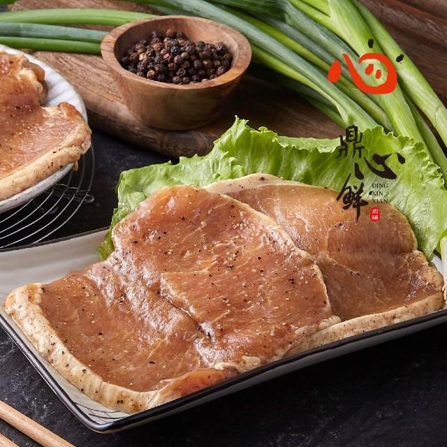 【鼎心鮮肉舖】古早味豬肉排(600g)