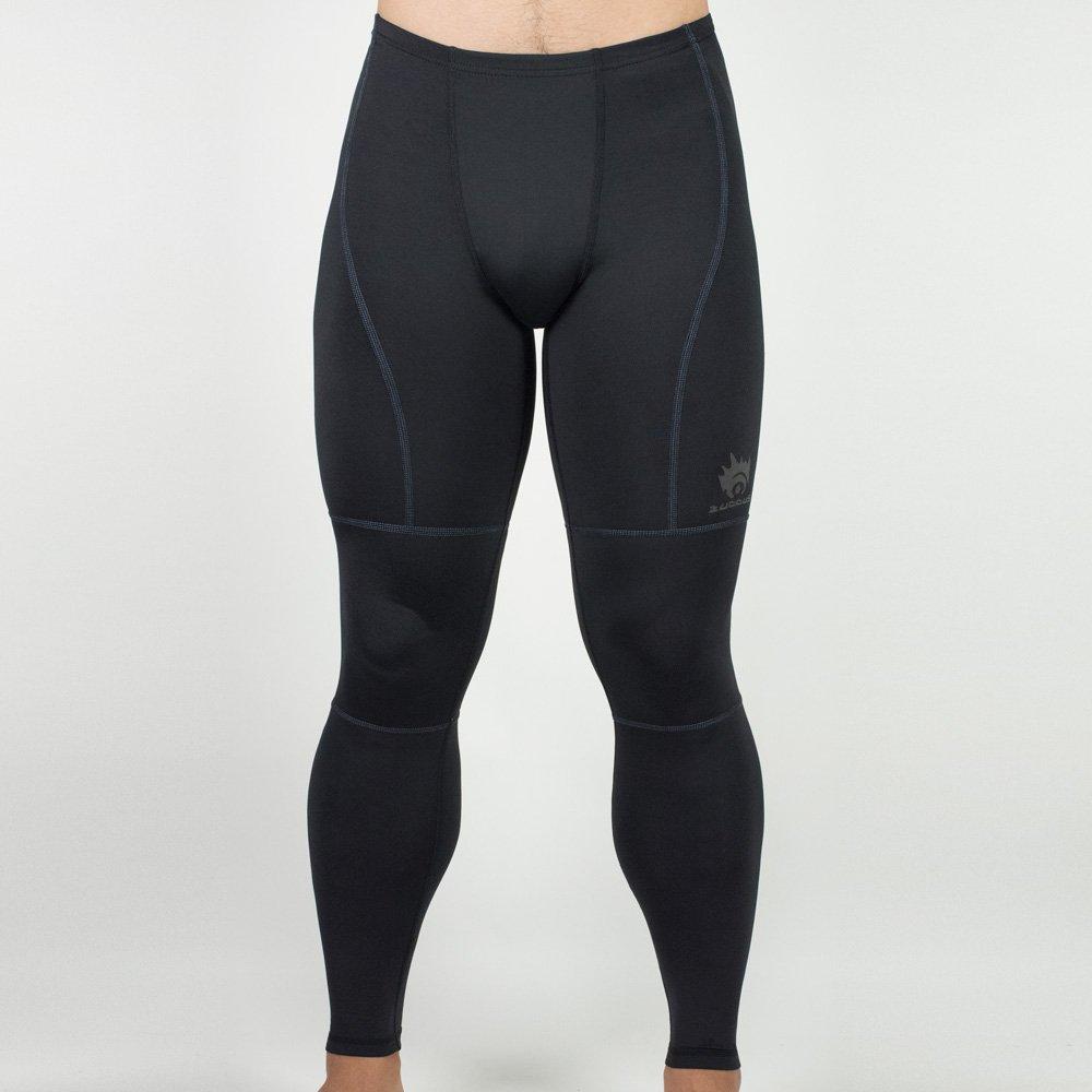 C-0956 男版Z3舒適壓縮機能長褲(黑/藍色線)