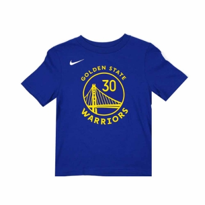 NIKE 兒童 短袖T恤 勇士隊 Stephen Curry