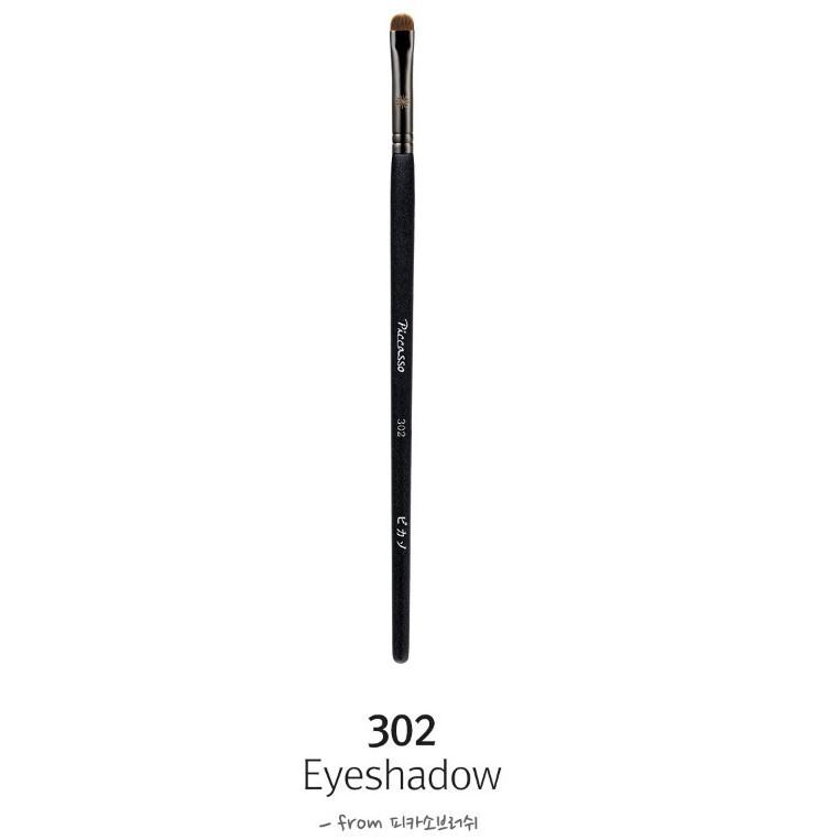 愛來客韓國piccasso授權經銷商 piccasso 302貂毛多功能眼影眉刷 眼線 眼影刷