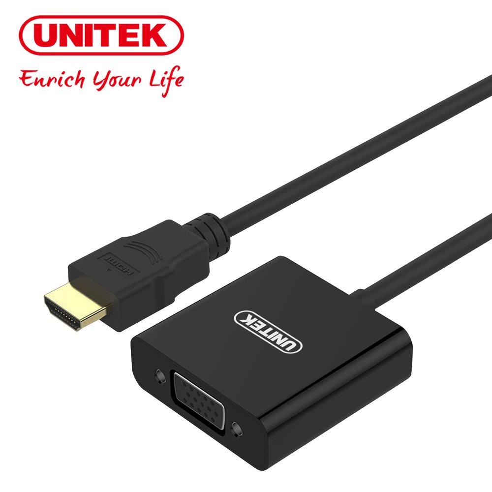 UNITEK HDMI轉VGA高清轉換器