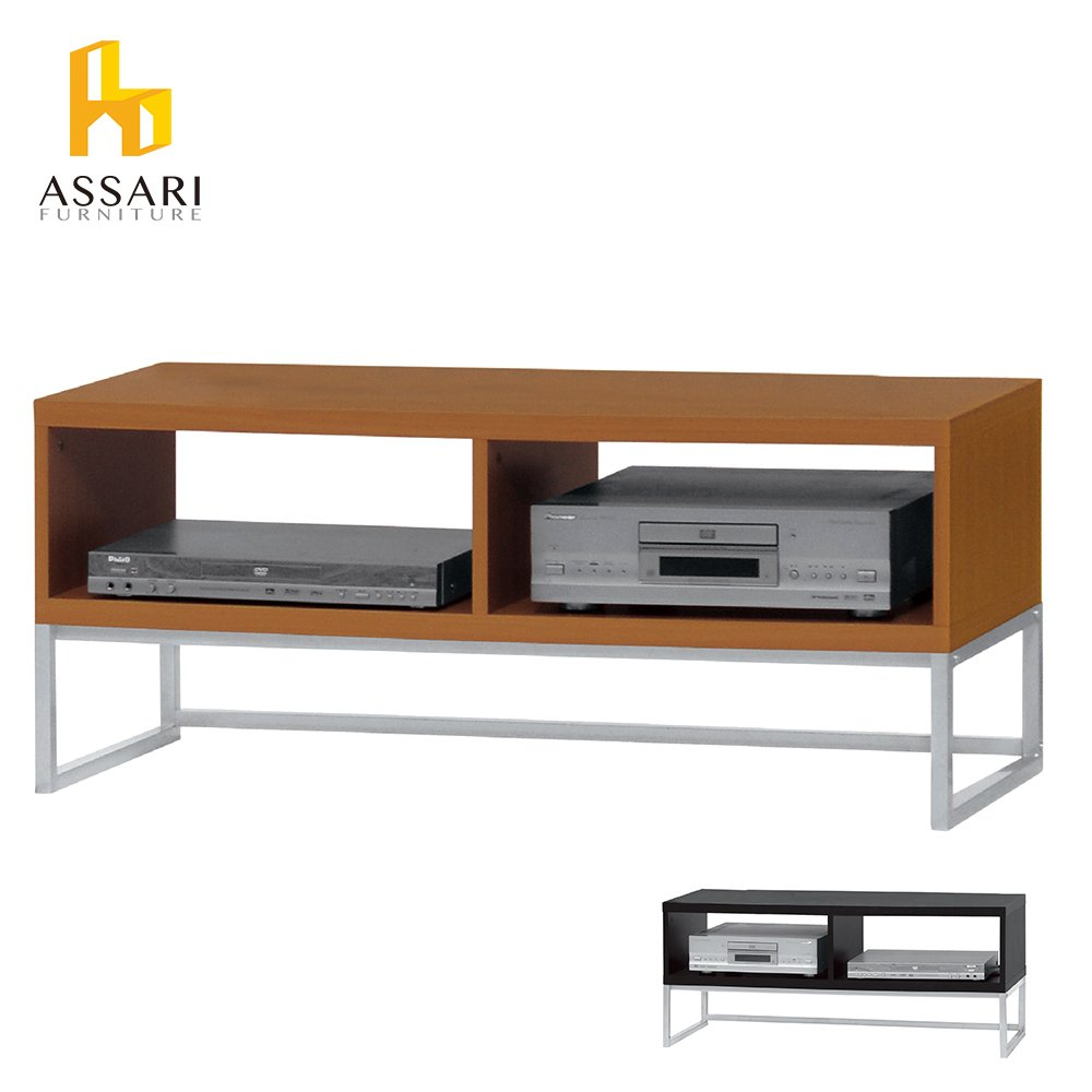 ASSARI-經典開放3.6尺電視櫃(寬110*深40*高46cm)-免組裝