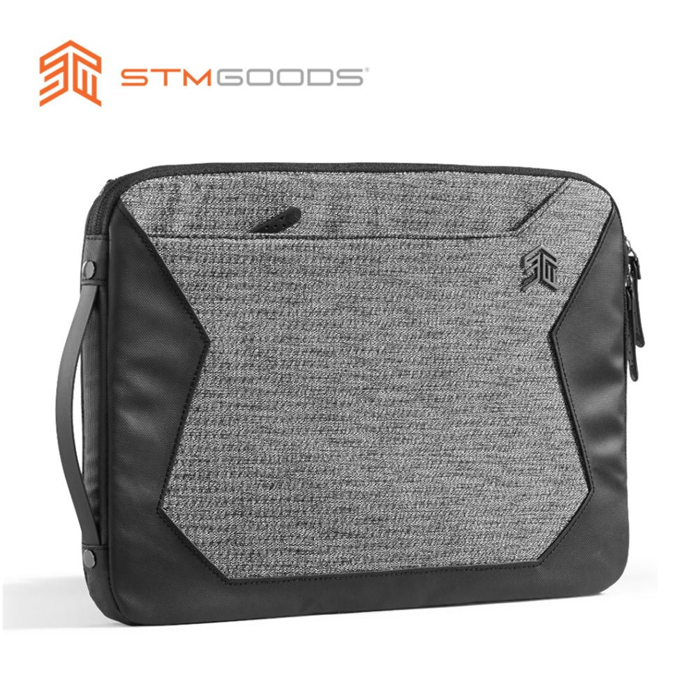 澳洲【STM】Myth 夢幻系列 Sleeve 15吋 可側背三用筆電保護內袋 / 防震包 (灰岩黑)