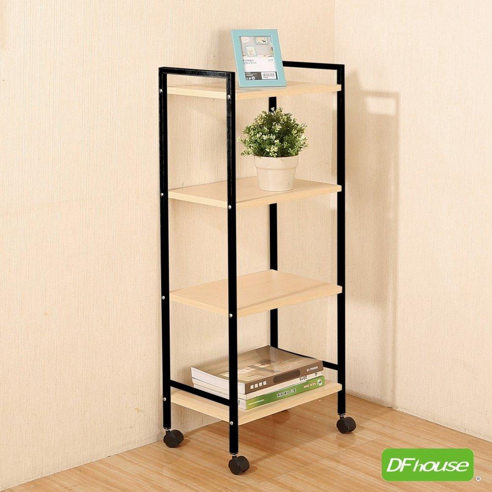 《DFhouse》佛瑞德-活動置物架(四層)多功能一抽櫃 床頭櫃 床邊櫃