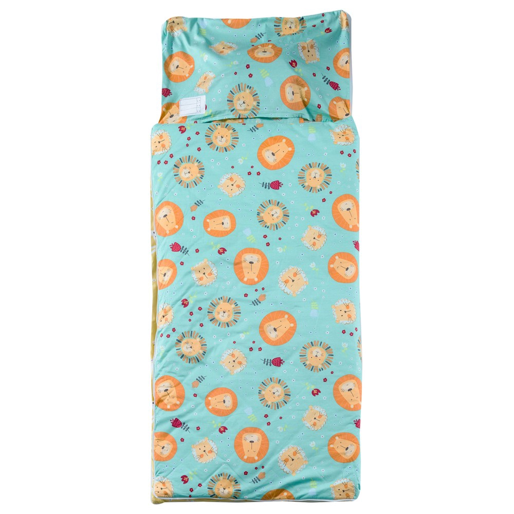 HOLA 獅王森巴純棉防蟎抗菌睡袋