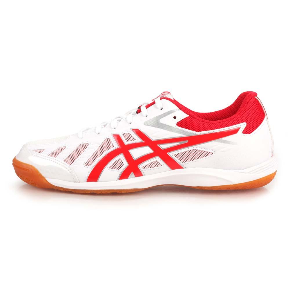 ASICS ATTACK HYPERBEAT SP 3 男女桌球鞋-乒乓球 白紅