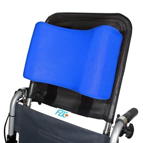 【富士康】輪椅頭靠組 (頭靠可調高度與角度 頭靠枕藍色)