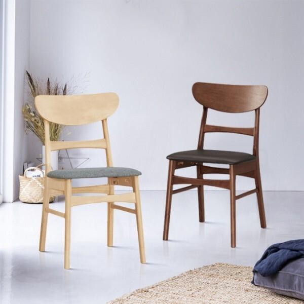 18park-原格餐椅-3色 [布面坐墊,白木色]