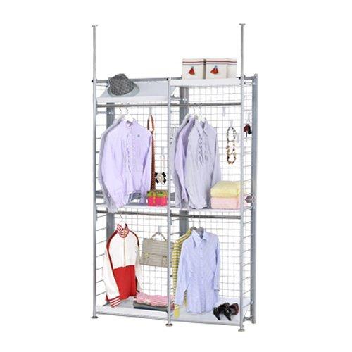 巴塞隆納─K33型伸縮屏風衣櫥架展示架置物架