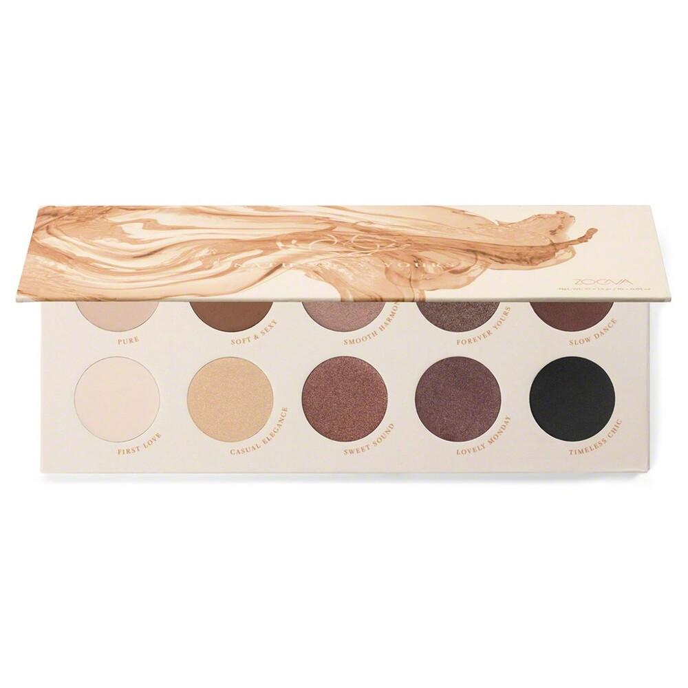 愛來客 德國zoeva naturally yours palette 10色眼影盤