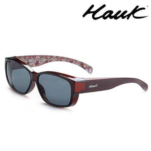 HAWK偏光太陽套鏡(眼鏡族專用)HK1004-09A