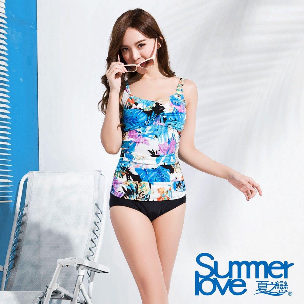 夏之戀 SUMMERLOVE 大女連身三角泳衣-E16723