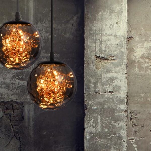 18park-繁星-隕石吊燈 [黃光,15cm,金]