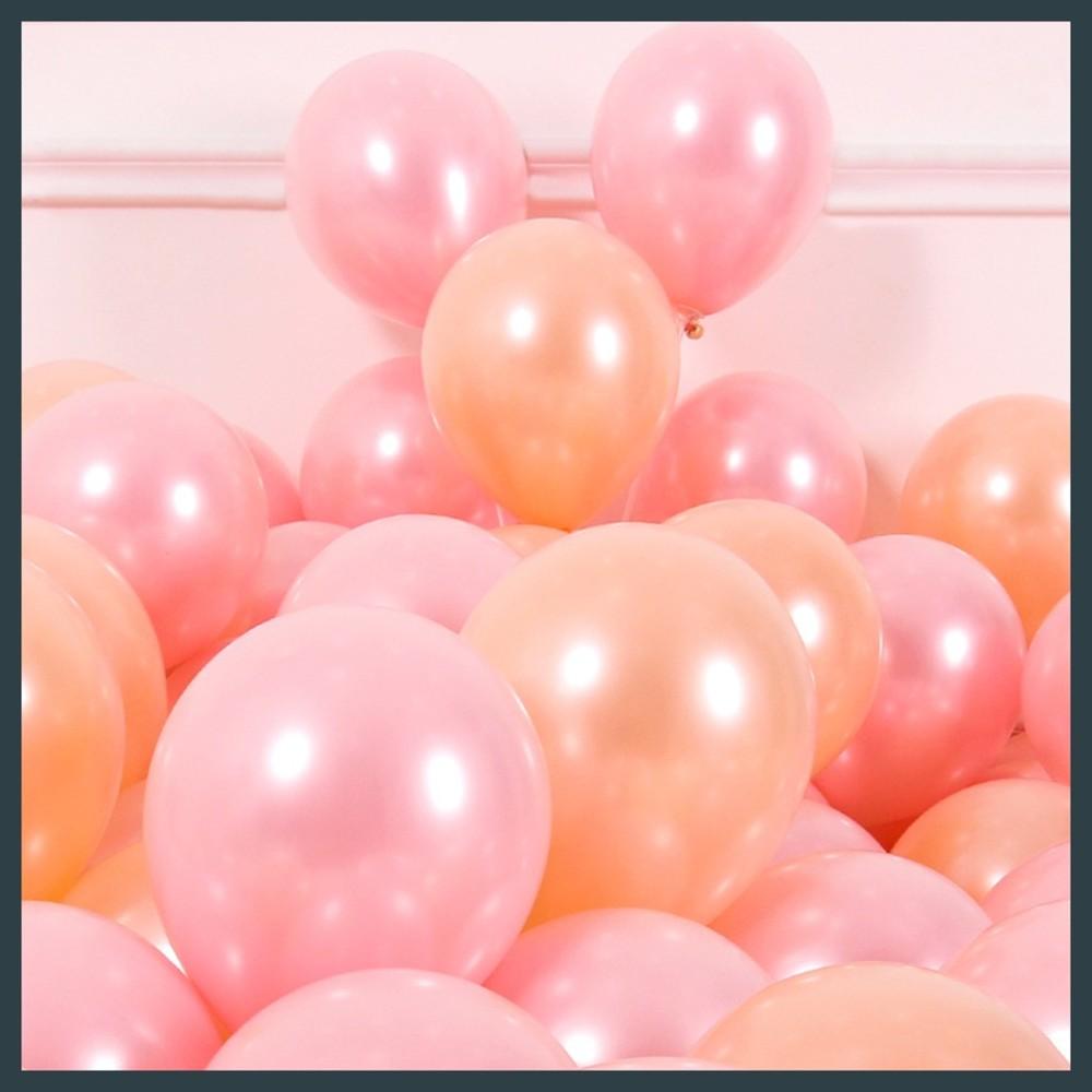 現貨牌 真珠面 11吋圓球 一顆3.5元 不充氣 單顆零售 美國製 生日佈置氣球快易送