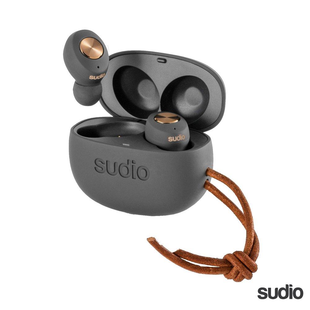 瑞典設計 SUDIO Tolv 真 無線藍牙耳機~碳黑