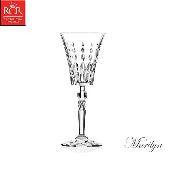義大利RCR Marilyn 瑪莉蓮系列 水晶甜酒杯 260mL 白酒杯 紅酒杯 水晶玻璃 水晶高腳杯