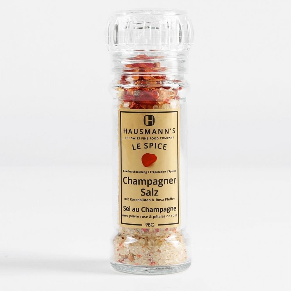 [瑞士歐曼]香檳浸漬香料鹽(98g)