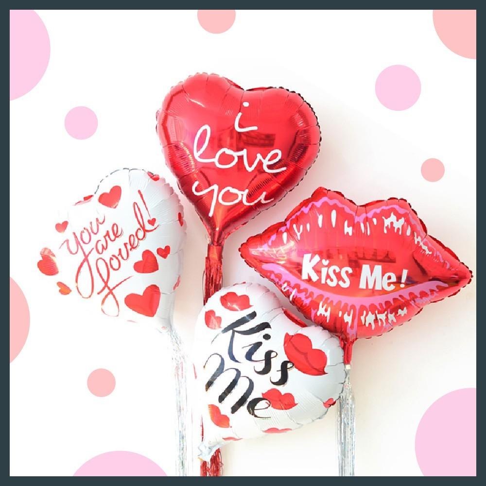 現貨18吋 you are loved 你是被愛的 情人節 生日氣球 會場佈置氣球快易送