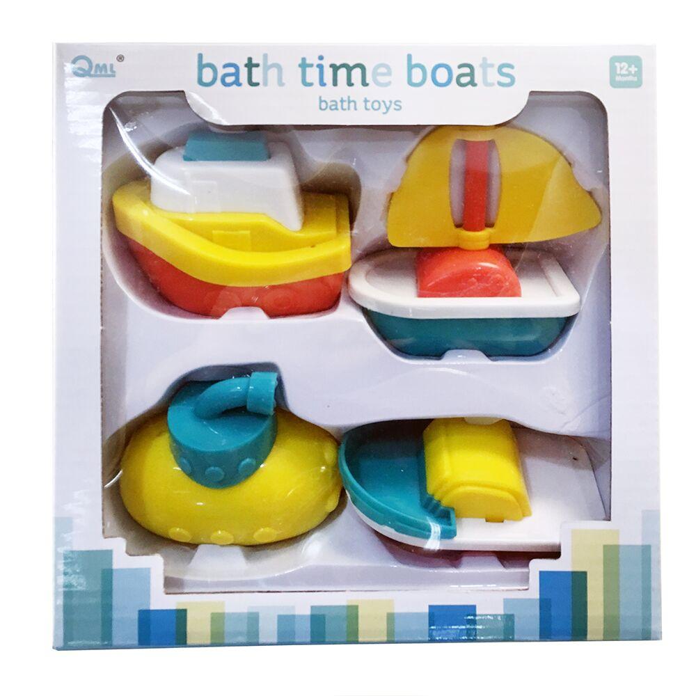 【GCT玩具嚴選】寶寶玩水小船組