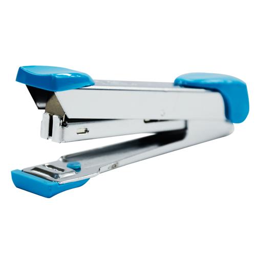 MAX HD-10 天空藍 釘書機(10號) 20張