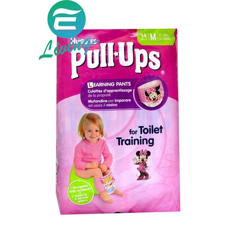 易油網huggies 尿布 14片裝 上廁所訓練 m號 #31250