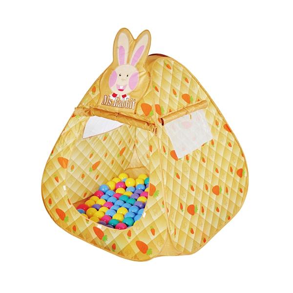 親親 可愛兔帳篷100球7CM(CBH~12)