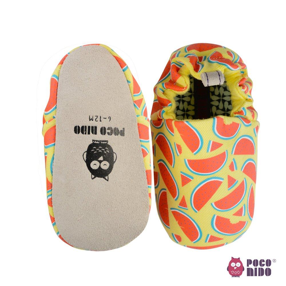 【英國 POCONIDO 】手工嬰兒鞋 (清涼西瓜)