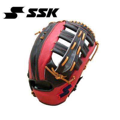 SSK  KPG250 SERIES 棒壘手套(藍紅標)  黑/紅   KPG250-9020G